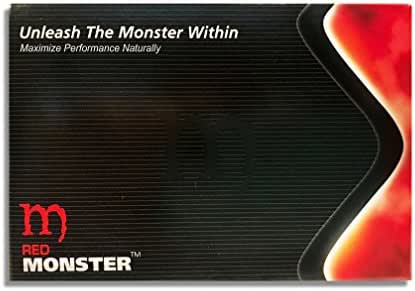 Red Monster (10 Caps) All Natural Male Energy