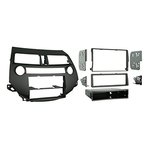 Metra 99-7874 Single/Double DIN Installation Kit for 2008-2009 Honda Accord 08-UP  W/O DUAL (Honda Accord Dash Kit)