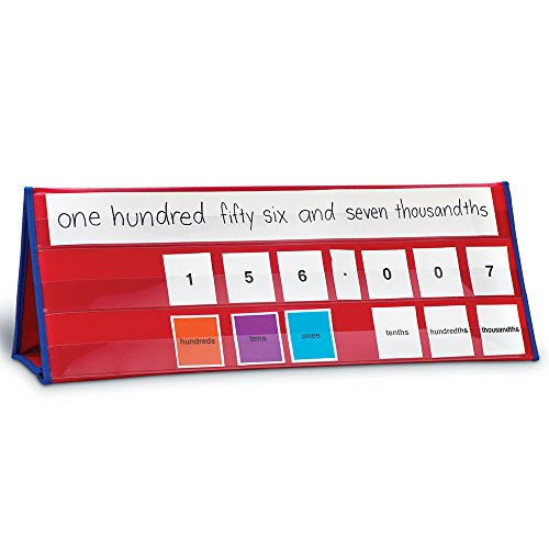 Place Value Tabletop Pocket Chart product image