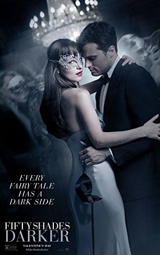 Fifty Shades Darker Original Promo Movie Poster Jamie Dornan 2017 Grey