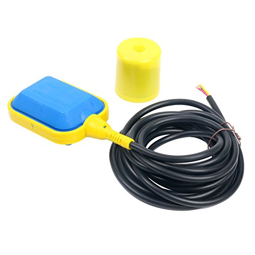 System Water Level Controller - YaeTek Float Switch with 4M 13 ft Cable Water Level Controller for Septic System, Sump Pump, Water Tank