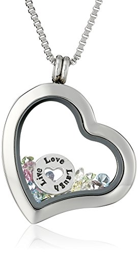 Charmed Lockets Swarovski Crystal Necklace