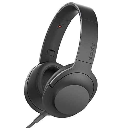 Sony MDR-100AAP On-Ear Hi-Res Audio Headphones(Charcoal Black)