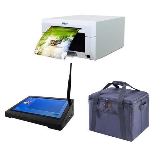 DNP DS620A Dye Sub Professional Photo Printer, Bundle WPS Pro Wireless Printer Server, Padded Printer Carrying Case