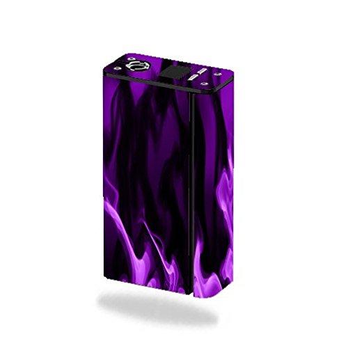 Decal Sticker Skin WRAP - Smok XCube Mini 75W - Purple Smoke
