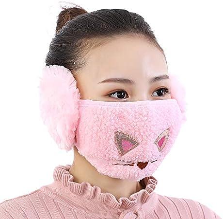 Winter Earmuffs,Universal Prints Warm Bandana Neck Warmer Headband Washable Balaclava Cold Weather Adults Mdsk