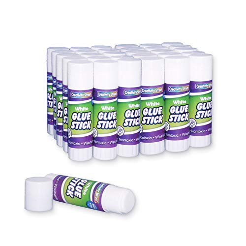 Creativity Street Glue Stick, 30-Pack, .28-Ounce, White