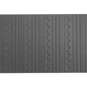 Cool Tools - Flexible Mega Tile - Mehndi Borders - 9.25'' X 6''
