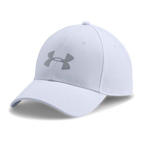 Under Armour Men's Storm Headline Cap, White (100)/Steel, Large/X-Large ()