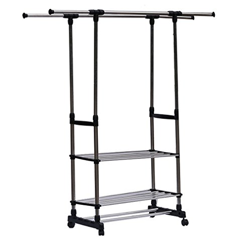 Holarose Garment Rack, Portable Clothes Drying Rack 3 Tier R