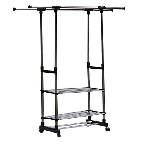 Holarose Garment Rack, Portable Clothes Drying Rack 3 Tier R