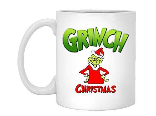 Halloween Dr. Seuss Quotes (Christmas Grinch Mug, Grinch Christmas, Double Hate Loathe Entirely, Dr Seuss Quotes, How The Grinch Stole Christmas, Christmas Coffee Mug, Gifts,)