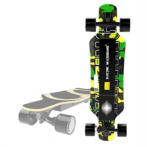GAOY Skateboard électrique Light,dual Drive,Maple Leaf,cross Country,high Quality,portable,dual Motorflexible,bluetooth,shock Absorbing,G15km