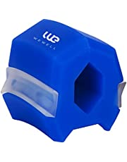 Jaw Exerciser to Reduce Double Chin, Mouth Muscle Exerciser, Enhance & Define Your Jaw, Slim & Tone Your Face, Jaw Exercise Ball to Lift Chin & Neck Muscles (Blue_Starter) (blue)