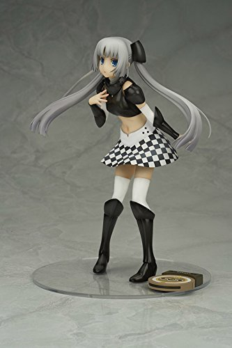 Bell Fine (BellFine) Miss Monochrome -The Animation- 2 Miss Monochrome Black Ver. 1/8 Scale Painted PVC figure