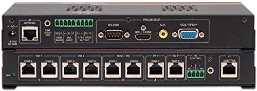 Hall Research VSA-51-R 5x1 Digital AV Control Switch-Cat Receiver