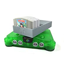 Collector Craft Gray Game Organizer Compatible with N64 Cartridge, Dust Cover, Cartridge Holder, Nintendo 64