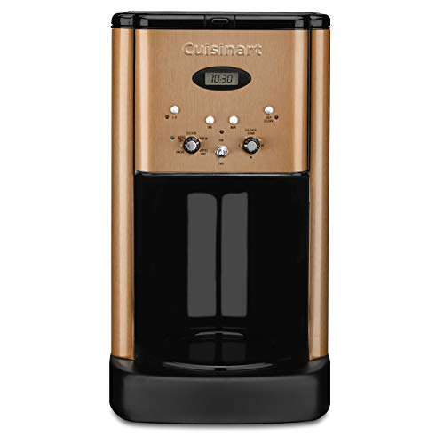 Cuisinart DCC-1200CP 12 Cup Brew Central Coffee Maker, Copper