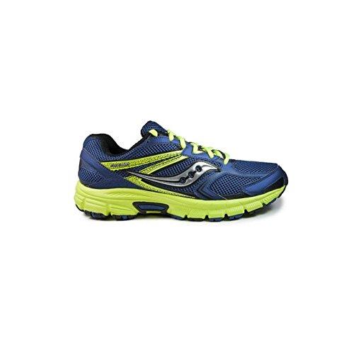 Saucony 25262-22, Zapatillas de Deporte Unisex Adulto blue/black/citron