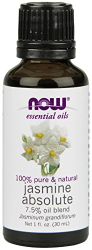 NOW Jasmine Absolute Essential Oil, 1-Ounce (Pack of (Jasmine Absolute)