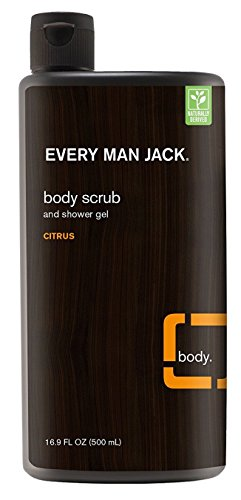 Every Man Jack Body Scrub And Shower Gel 16.9 Ounce Citrus (500ml)