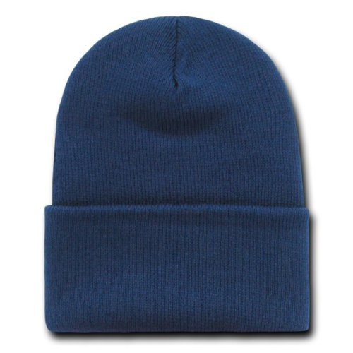 6d7de2ae149 ... netherlands navy blue long beanie ski cap caps hat hats cuffed at  amazon mens clothing store