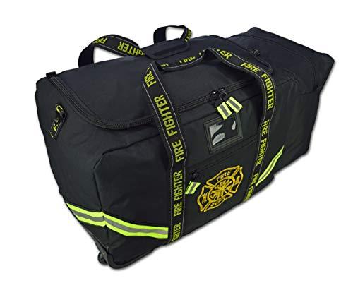 Lightning X Value Edition XL Turnout Gear Bag w/Wheels & Helmet Pocket - Black