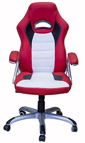 41oWLjXHpHL - ViscoLogic-Series-Gaming-Racing-Style-Swivel-Office-ChairYF-2741