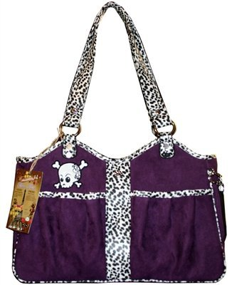 Bon Ami (Good Friend) - Structured Airline Approved Pet Carrier (Punky Skully) (Snakeskin Carrier)