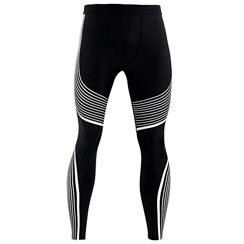 Tights Veloce Asciugatura Bianca Missmao Fitness Uomo Compressione Jogging Pantaloni Sports 3q5RLAc4jS