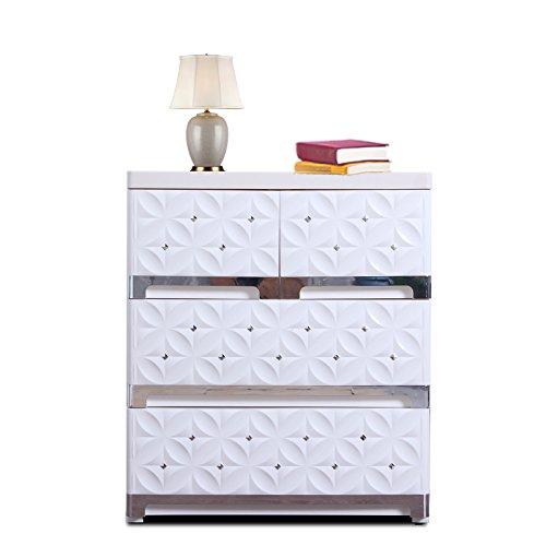 Nafenai 3 Drawer Dresser/Storage Organizer Unit for Livingroom, Cloest or Bedroom (Bedroom Living Room Dresser)