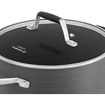 Select by Calphalon Hard-Anodized Nonstick 7-Quart Dutch Oven with Cover