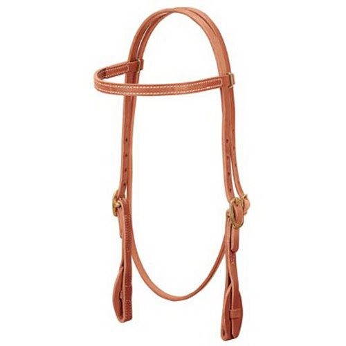 Weaver Leather ProTack Quick Change Browband Headstall (Weaver Harness Leather)