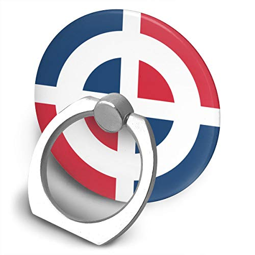 Roundel of The Dominican Custom Finger Ring Grip 360° Rotary Cell Phone Holder ()