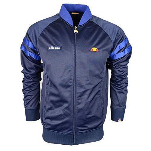 ellesse Men's Romeo Track Jacket, Blue, X-Large
