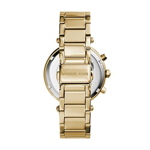 10f9b626813d ... Michael Kors Women s Parker Gold-Tone Watch MK5354 ...