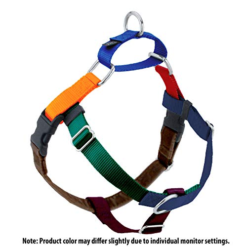 2 Hounds Design Freedom No-Pull Dog Harness, Adjustable Comfortable Control for Dog Walking, Made in USA (Leash Sold Separately) (XSmall 5/8