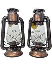 Dietz 20 Junior Oil Burning Lantern (Bronze) 2 pack