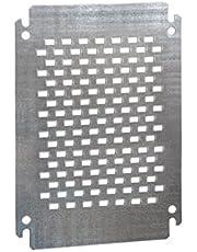IDE PLU5030 Placa Montaje Metálicas, Ranuradas, GN-ATX-INX