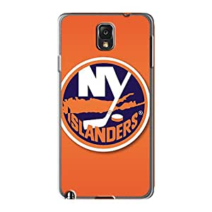 High Quality Cell-phone Hard Cover For Samsung Galaxy Note 3 (NcJ1359eCfh) Allow Personal Design High Resolution New York Islanders Pattern