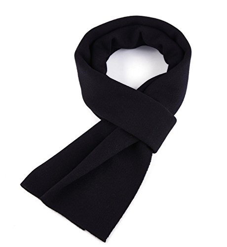 Veniroc Men's Winter Cashmere Scarf Soft Wool (Mens Wool Scarves)