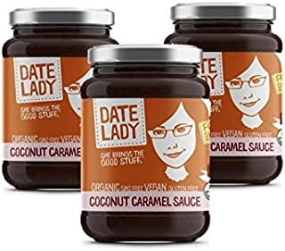 product image for Date Lady Organic Coconut Caramel Sauce | Vegan, Paleo, Gluten-free & Kosher (3 Jar)