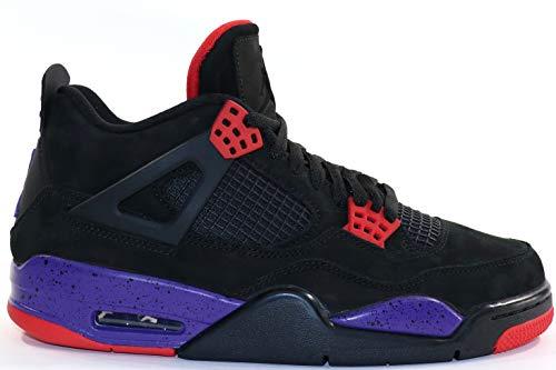 Air Jordan 4 Retro NRG Raptors AQ3816 065 Black/Purple