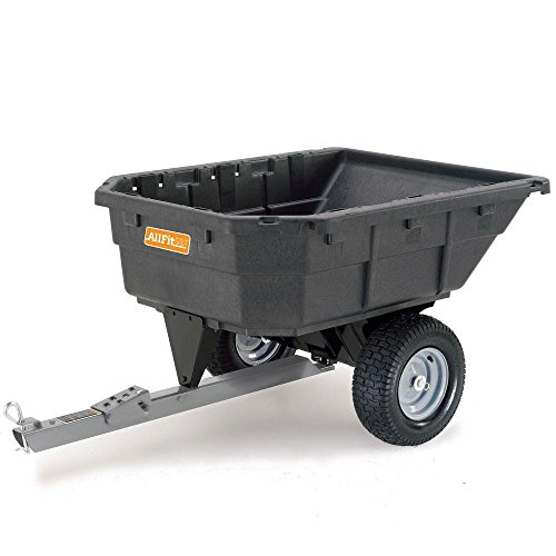 allfit poly swivel dump cart