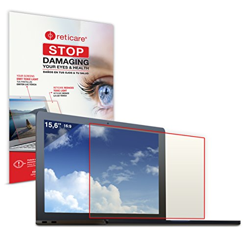 Reticare 352L-0215-B - Protector intensive de ojos para ordenador portatil de 15.6 (16:9)