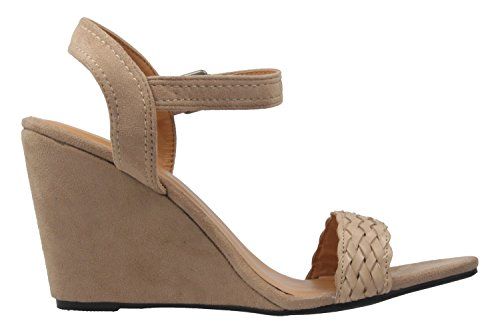 Machado Pour Andres Femme Sandales Beige 16COyqwg
