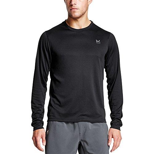 Mission Men's VaporActive Alpha Long Sleeve Athletic Shirt, Mission Moonless Night, XX-Large