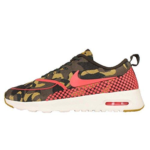 85%OFF Womens Nike Air Max Thea Jacquard Premium Desert Camo
