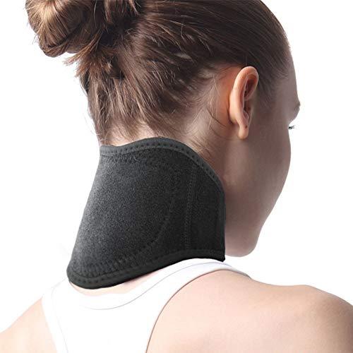LIBINA - Cojines Térmicos Almohadillas para envolver el cuello con calefacción, Bracket con soporte para el cuello...