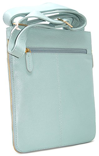 Bag Radley RRP Duck Light in Leather Egg Medium Teal 125 Pocket Blue HvHwptq